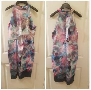 ASOS - Mixed Print Midi Dress